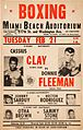 1961 Cassius Clay vs. Donnie Fleeman On-Site Poster.jpg