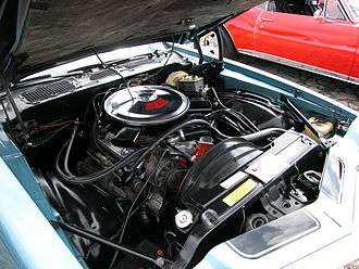 Chevrolet small-block engine - LT-1 from a 1970 Chevrolet Camaro Z28