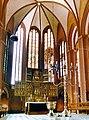 19860719721AR Werben (Elbe) Pfarrkirche St Johannis Altar.jpg