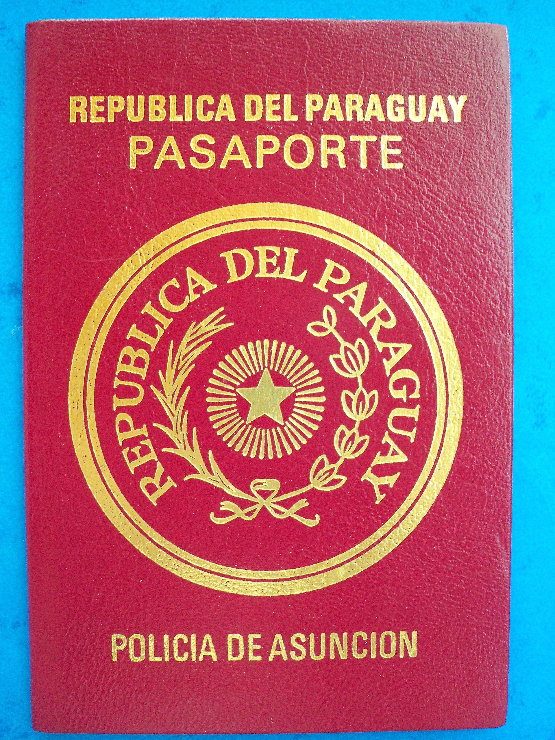 ع جواز سفر باراغواي - ويكيبيديا، الموسوعة الحرة