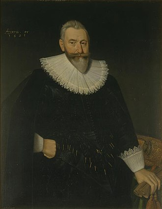 George Hay, 1st Earl of Kinnoull - The Earl of Kinnoull, painted by Adam de Colone, 1625