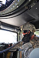 1st Lt. Jeremy Gilbert conducts convoy training (7650568096).jpg