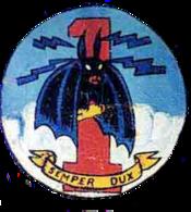 1st Pathfinder Squadron - Provisional - Emblem