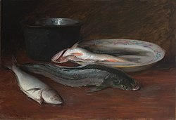 William Merritt Chase: Still Life with Fish