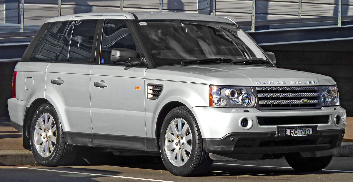 range rover sport wikip dia. Black Bedroom Furniture Sets. Home Design Ideas