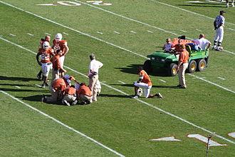 2006 Texas A&M Aggies football team - Colt MCoy injured