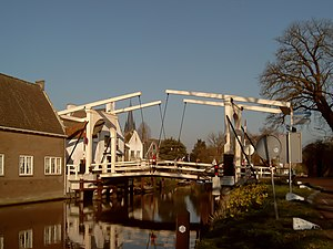 Breukelen - Bridge across the Vecht