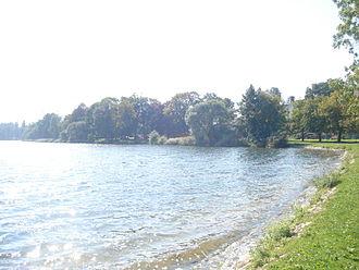 Choszczno - Lake Klukom (German: Klückensee)