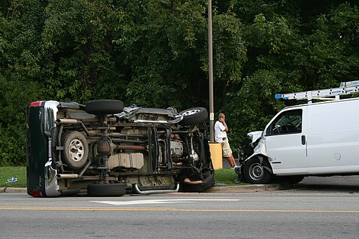 2008-09-17 Ford F-150 and Chevy Express 1500 crashed in Durham