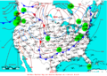 2009-03-19 Surface Weather Map NOAA.png
