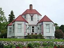 Ephraim Shay S Hexagonally Shaped House