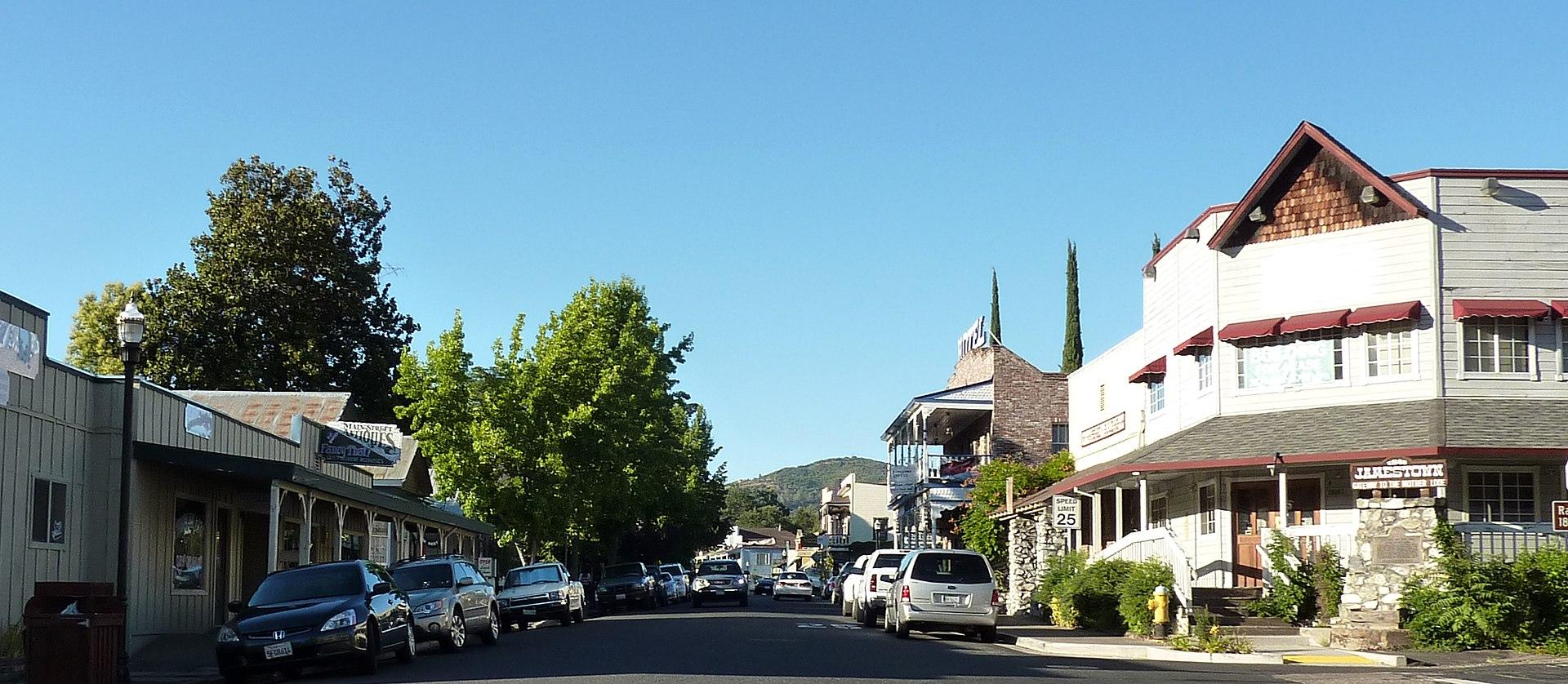 Jamestown, California ...