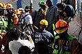 2010년 중앙119구조단 아이티 지진 국제출동100118 중앙은행 수색재개 및 기숙사 수색활동 (173).jpg