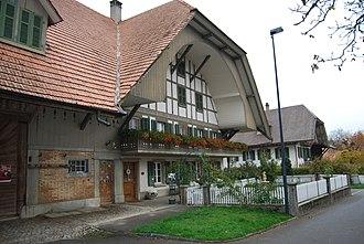Bangerten - Half-timbered house in Bangerten