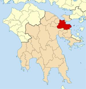Corinth (municipality) - Image: 2011 Dimos Korinthion