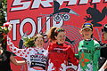 2011 Tour of the Gila - Women podium.jpg