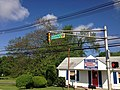 2014-05-17 09 03 45 Sign at the intersection of Ewingville Road (Mercer County Route 636), Parkside Avenue (Mercer County Route 636) and Spruce Street (Mercer County Route 613) in Ewing, New Jersey.JPG