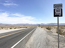 Nevada State Route 160 - Wikipedia