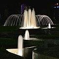 2015 night in Moscow - Aquarium fountains 01.jpg