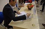 2016-08-26. Спецгашение марки в честь пятилетия «Арт-Донбасса» 23.jpg