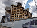 2016 Woolwich, Royal Arsenal, Waterfront construction site 17.jpg