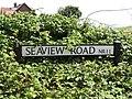 2018-06-24 Street name sign, Seaview Road.JPG