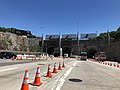 2018-07-08 10 45 42 View east along New Jersey State Route 495 (Lincoln Tunnel Approach) just west of the western entrance of the Lincoln Tunnel in Weehawken Township, Hudson County, New Jersey.jpg