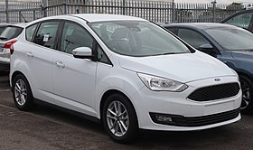 2018 Ford C-Max facelift Front.jpg