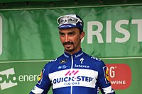 2018 Tour of Britain stage 3 - stage winner Julian Alaphilippe.JPG