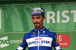 Julian Alaphilippe French bicycle racer