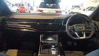 Audi Q8 - Image: 2019 Audi Q8 T Di Quattro 50 Interior