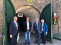 2020-06-01 – Ambassador Hoekstra reopens WO 2 & Vliegeniersmuseum in West Betuwe, together with Servaas Stoop, Mayor of West Betuwe and Museum President Peter den Tek.jpg