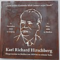 2021 Gedenkplatte Karl Richard Hirschberg Bürgermeister Meißen.jpg