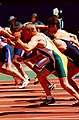 261000 - Athletics track Hamish MacDonald action - 3b - 2000 Sydney race photo.jpg