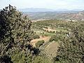 290 La carretera de Montsonís des de Sant Urbà (Foradada), al fons Artesa de Segre.JPG