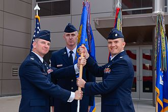 2d Space Operations Squadron - Squadron change of command June 24, 2016.