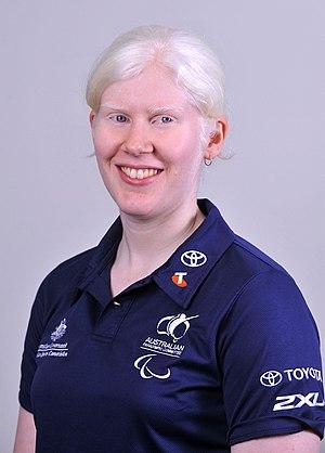 Nicole Esdaile - 2012 Australian Paralympic Team portrait of Esdaile