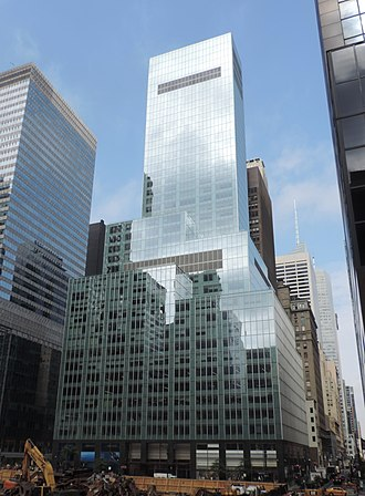 Vornado Realty Trust - 330 Madison Avenue, owned by Vornado