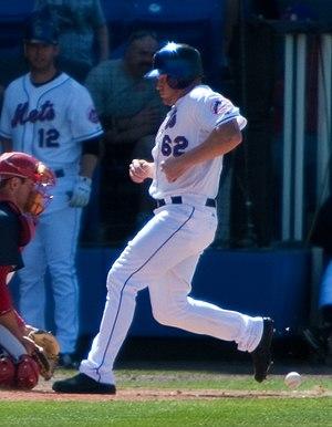Bobby Kielty - Kielty with the Mets in spring training.
