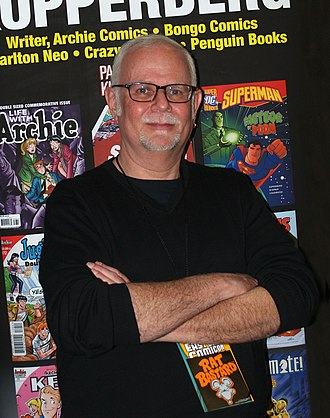 Paul Kupperberg - Kupperberg at the 2015 East Coast Comicon in Secaucus, New Jersey