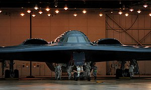 509th Bomb Wing - Image: 509th Bomb Wing B 2 Spirit 2011