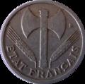50 centimes état français avers.png
