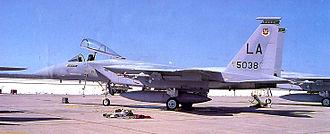555th Fighter Squadron - 555th TFTS F-15A-13-MC Eagle, AF Ser. No. 75-0038, 1979