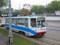 71-617 (KTM-17) tram (educational) in Moscow (front view).jpg