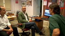 File:7 7 - Backstage - At Armadilla office - Discussing about RAI outputs.webm