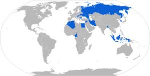 9K115-2 Metis-M - Map with 9K115-2 operators in blue