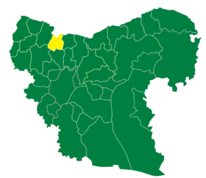 Azaz District - The administrative center of Azaz Subdistrict shown above is the city of Azaz.