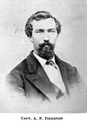 Kootenai (sternwheeler) - A. F. Pingston, first captain of Kootenai
