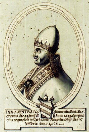 Papal election, 1243 - Image: A14 INNOCENZO IV