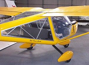 Aeroprakt A-22 Foxbat - The A-22 Foxbat, showing its unique window arrangement